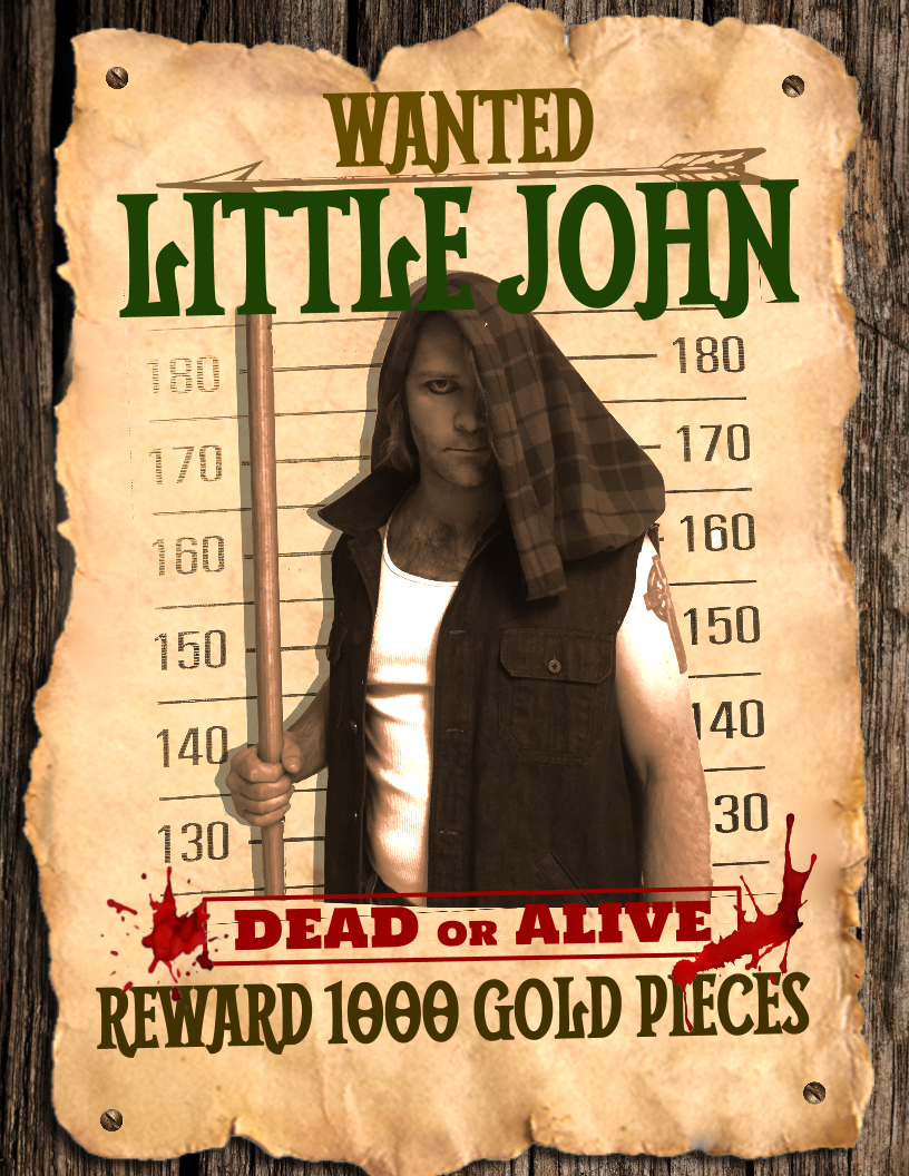 Little John Wanted Poster Final