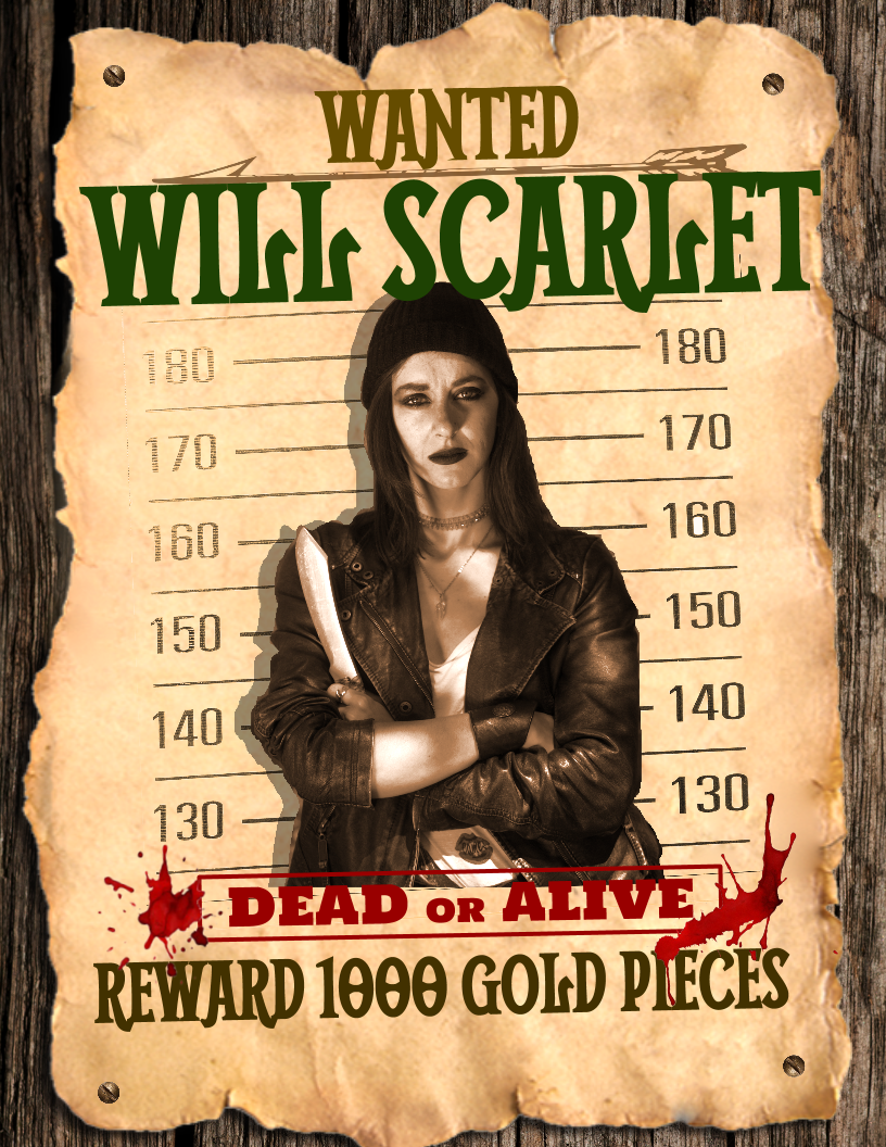 Will Scarlet Wanted Poster Final